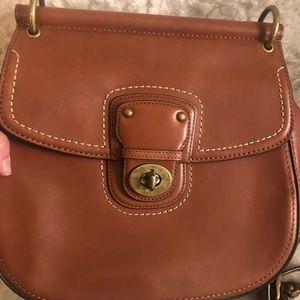 COACH satchel/cross body